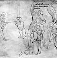 Villard De Honnecourt (c1225-1250) by Granger