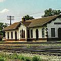 Villisca Train Depot by Edward Peterson