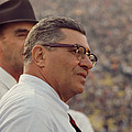 Vince Lombardi Coaching by Retro Images Archive