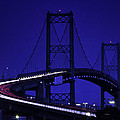 Vincent Thomas Bridge by Fran Gallogly
