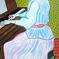 Vincent Van Gogh's Marguerite Gachet Playing At The Piano by Don Parker