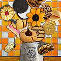 Vincent's Sunflower Cookie Jar by Jose A Gonzalez Jr