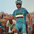 Vincenzo Nibali Painting by Paul Meijering