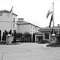Vineyard Creek Hyatt Hotel Santa Rosa California 5d25787 Bw by Wingsdomain Art and Photography
