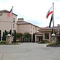Vineyard Creek Hyatt Hotel Santa Rosa California 5d25787 by Wingsdomain Art and Photography
