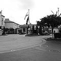 Vineyard Creek Hyatt Hotel Santa Rosa California 5d25789 Bw by Wingsdomain Art and Photography