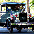 Vintage 1929 Model A Town Car by Charles Robinson