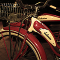 Vintage 1941 Boys And 1946 Girls Bicycle 5d25760 Vertical Sepia2 by Wingsdomain Art and Photography