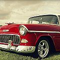 Vintage 1955 Chevy Nomad by Jen T