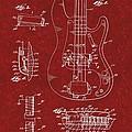 Vintage 1961 Fender Guitar Patent by Doc Braham