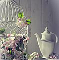 Vintage Afternoon Tea by Amanda Elwell
