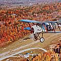 Vintage Airplane Postcard Art Prints by Valerie Garner