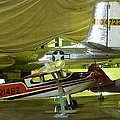 Vintage Airplanes Display by Susan Garren