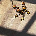 Vintage Amber Necklace by Jill Battaglia