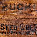 Vintage Arbuckles Roasted Coffee Sign by John Stephens