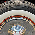 Vintage Automobile Tire by Donna Haggerty