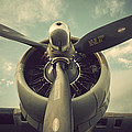 Vintage B-17 Flying Fortress Propeller by Terry DeLuco
