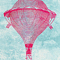 Vintage Balloon by World Art Prints And Designs