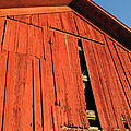 Vintage Barn Aglow by Ann Horn