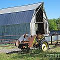 Vintage Barn And Equipment by Dale Jackson