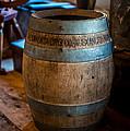 Vintage Barrel by Paul Freidlund