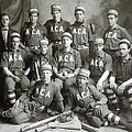 Vintage Baseball Team by Russell Shively