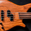 Vintage Bass Guitar Body by Semmick Photo