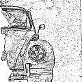 Vintage Beetle by Jon Neidert