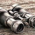 Vintage Binoculars by Olivier Le Queinec