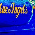 Vintage Blue Angel by Benjamin Yeager