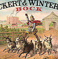 Vintage Brewery Ad 1871 by Padre Art
