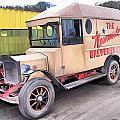 Vintage Brewery Van by John Lynch