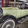 Vintage Bugatti  by Douglas Barnard