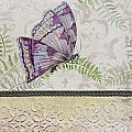 Vintage Butterfly-jp2568 by Jean Plout