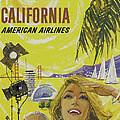 Vintage California Travel Poster by Joy McKenzie
