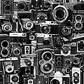 Vintage Camera Montage by Andrew Fare