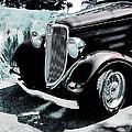 Vintage Ford Car Art 1 by Lesa Fine