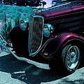 Vintage Ford Car Art II by Lesa Fine