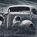 Vintage Car At Bodie by Kelley King