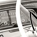 Vintage Car Dashboard by Heather Allen