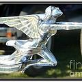 Goddess Of Speed Packard Hood Ornament  by Susan Garren