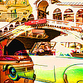 Vintage Cars Collage by Cathy Anderson