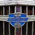 Vintage Chevrolet Grille Emblem by Alan Hutchins