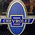 Vintage Chevrolet Logo by Joan Reese