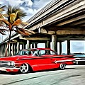 Vintage Chevy Impala by Florian Rodarte