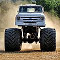 Vintage Chevy Monster  by Olivier Le Queinec
