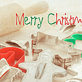 Vintage Christmas Cookie Cutters  by Marianne Campolongo