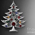 Vintage Christmas Tree by Jai Johnson