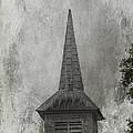 Vintage Church by Judy Hall-Folde