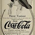 Vintage Coca Cola Ad 1911 by Georgia Fowler